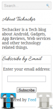 How to receive regular Techacker updates or any other blog for that matter?