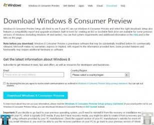 Did you install Windows 8 preview? [Poll]