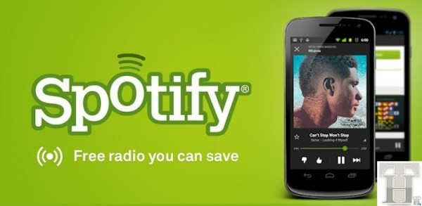 Spotify Launches Pandora killer for Android &#8211; Free Mobile Radio For U.S.