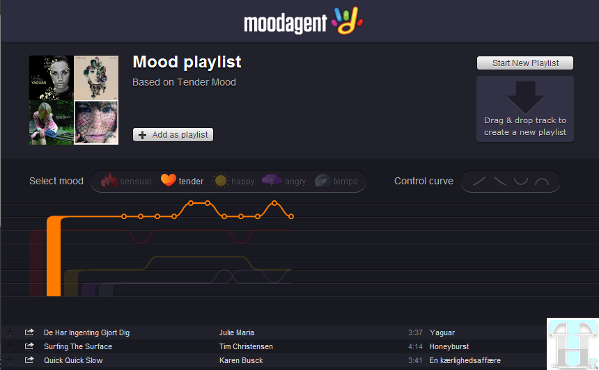 Moodagent - Spotify App for Music Discovery