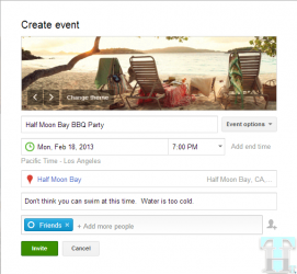 How to Get started with Google+ Events?